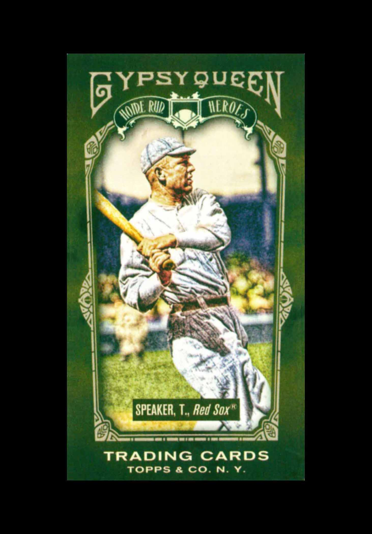 2011 Topps Gypsy Queen Home Run Heroes Mini