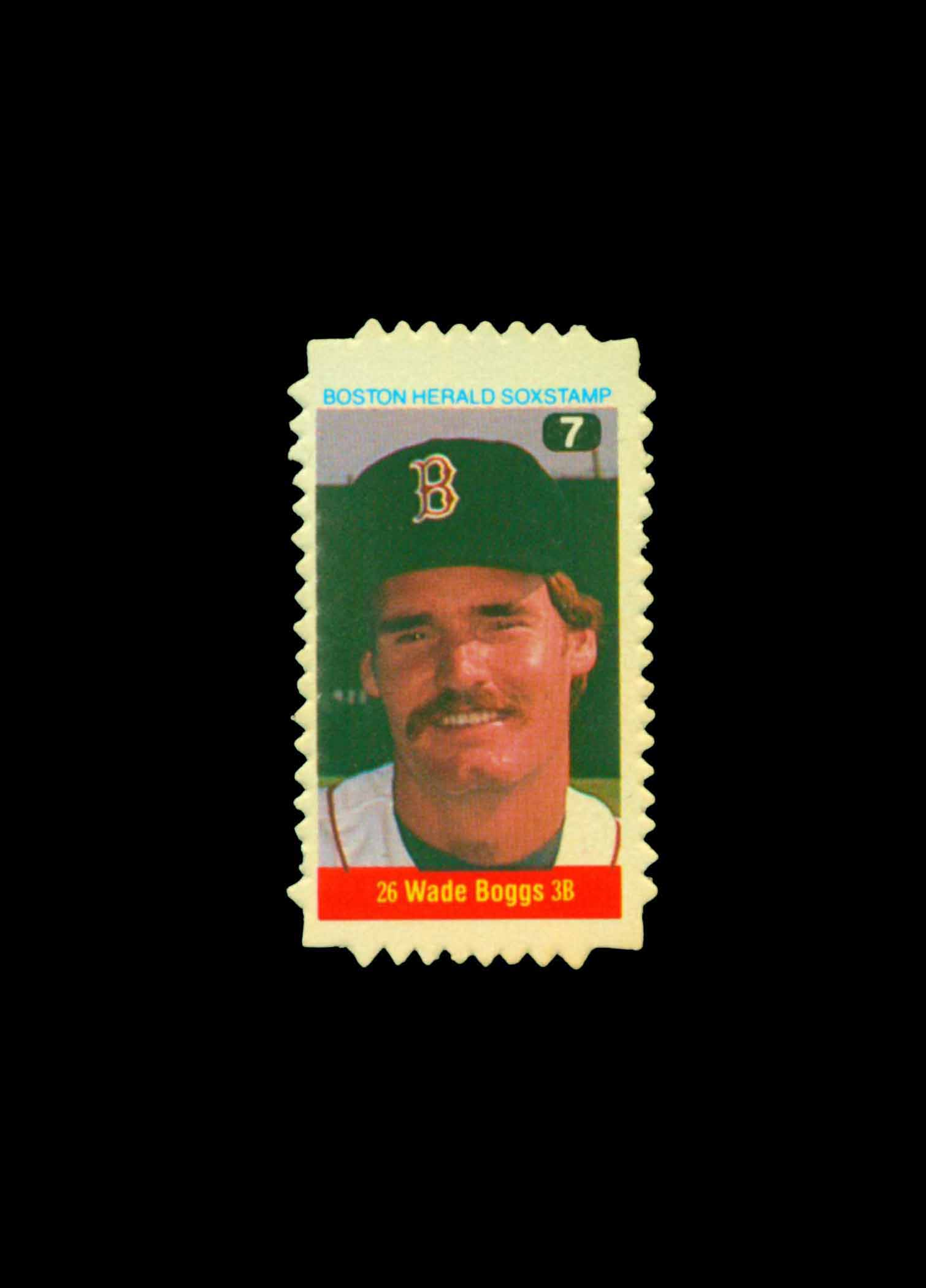 1982 Red Sox Herald Stamps