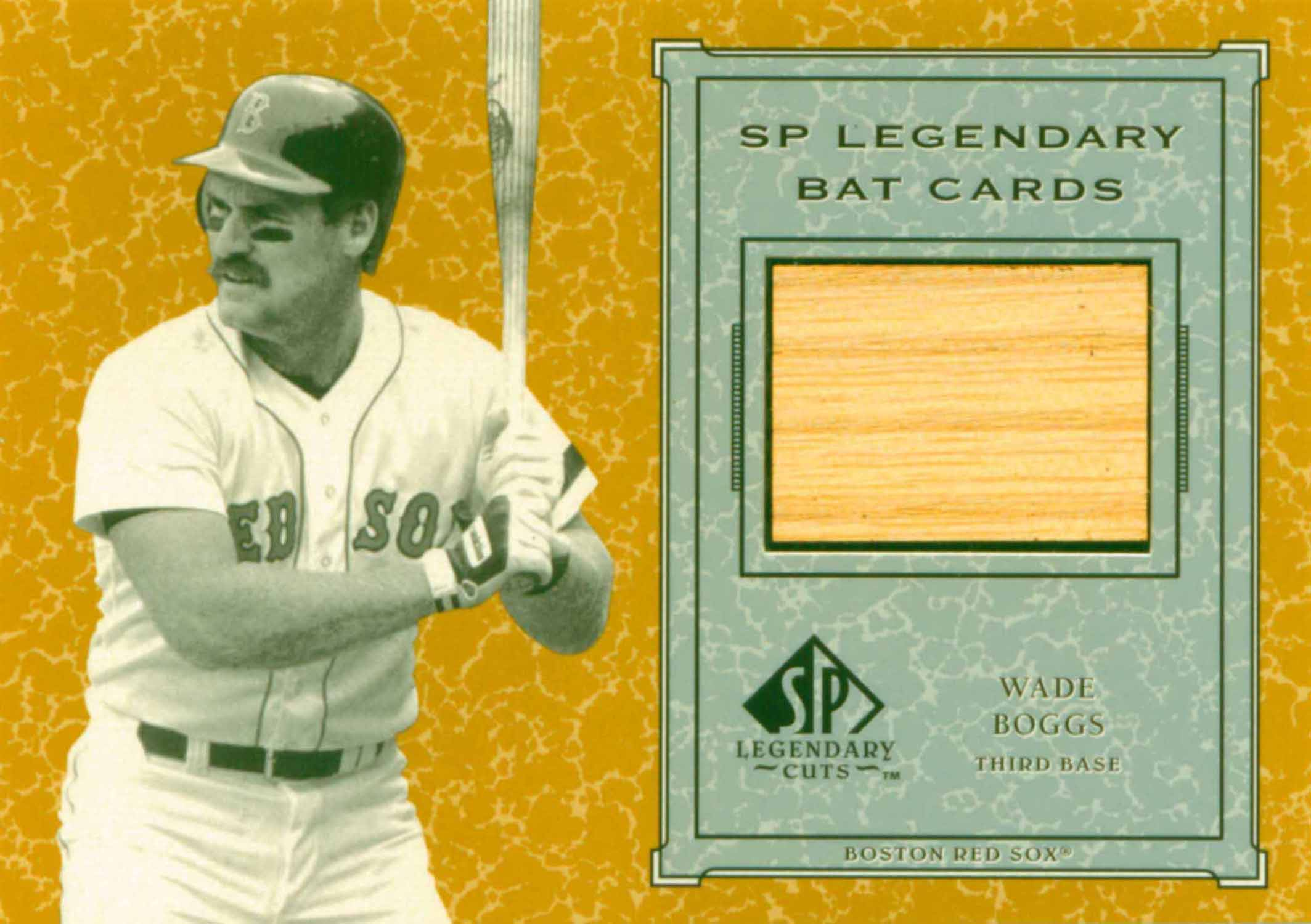 2001 SP Legendary Cuts Game Bat