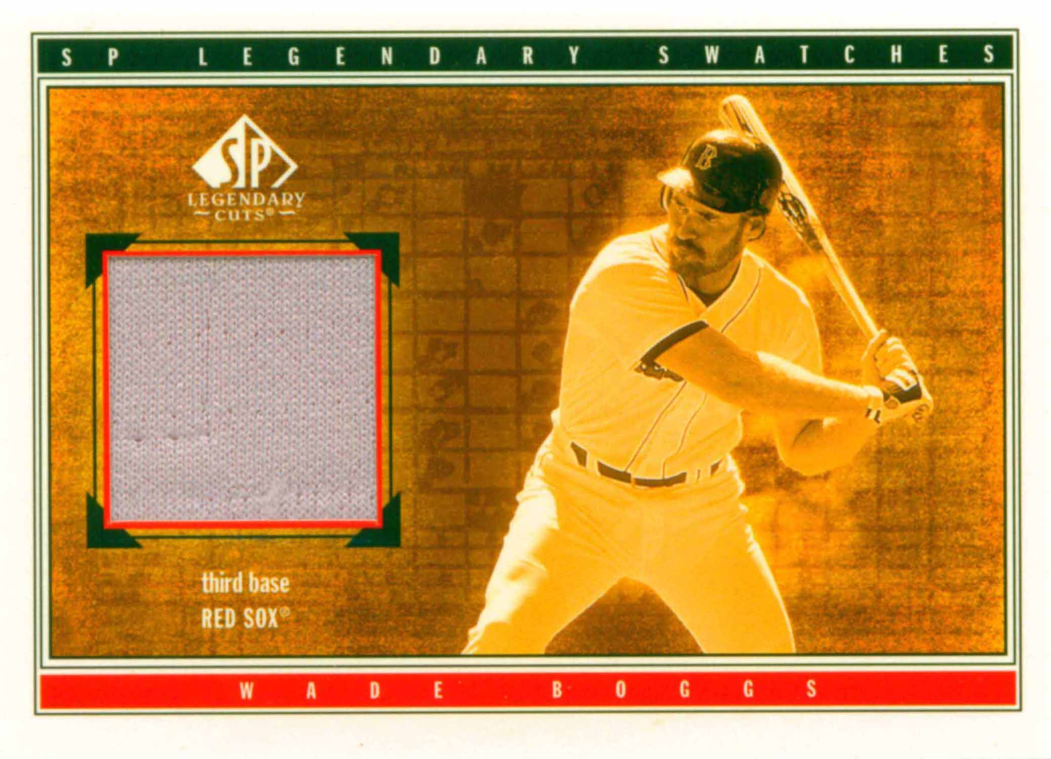 2002 SP Legendary Cuts Game Swatches