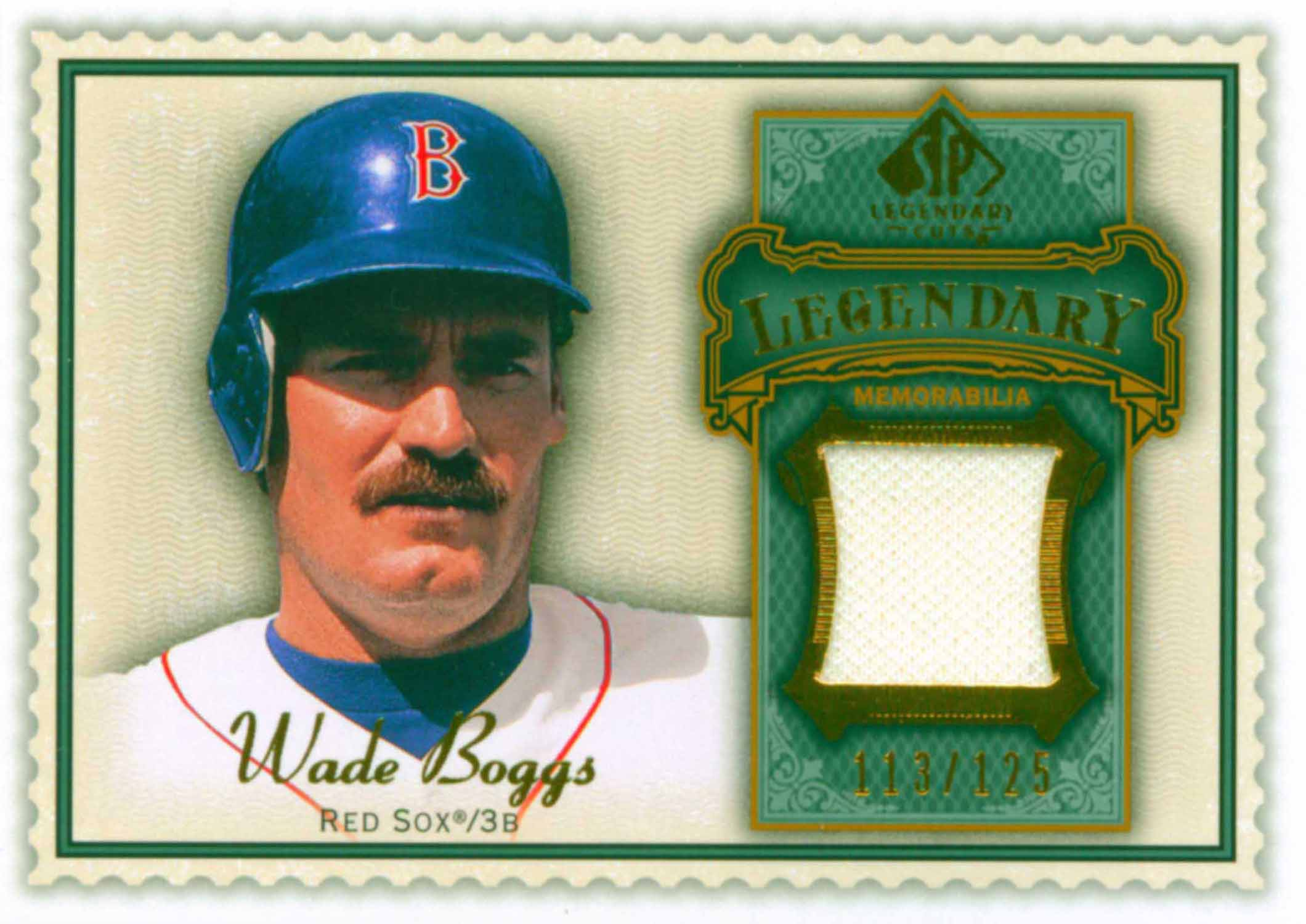 2009 SP Legendary Cuts Legendary Memorabilia