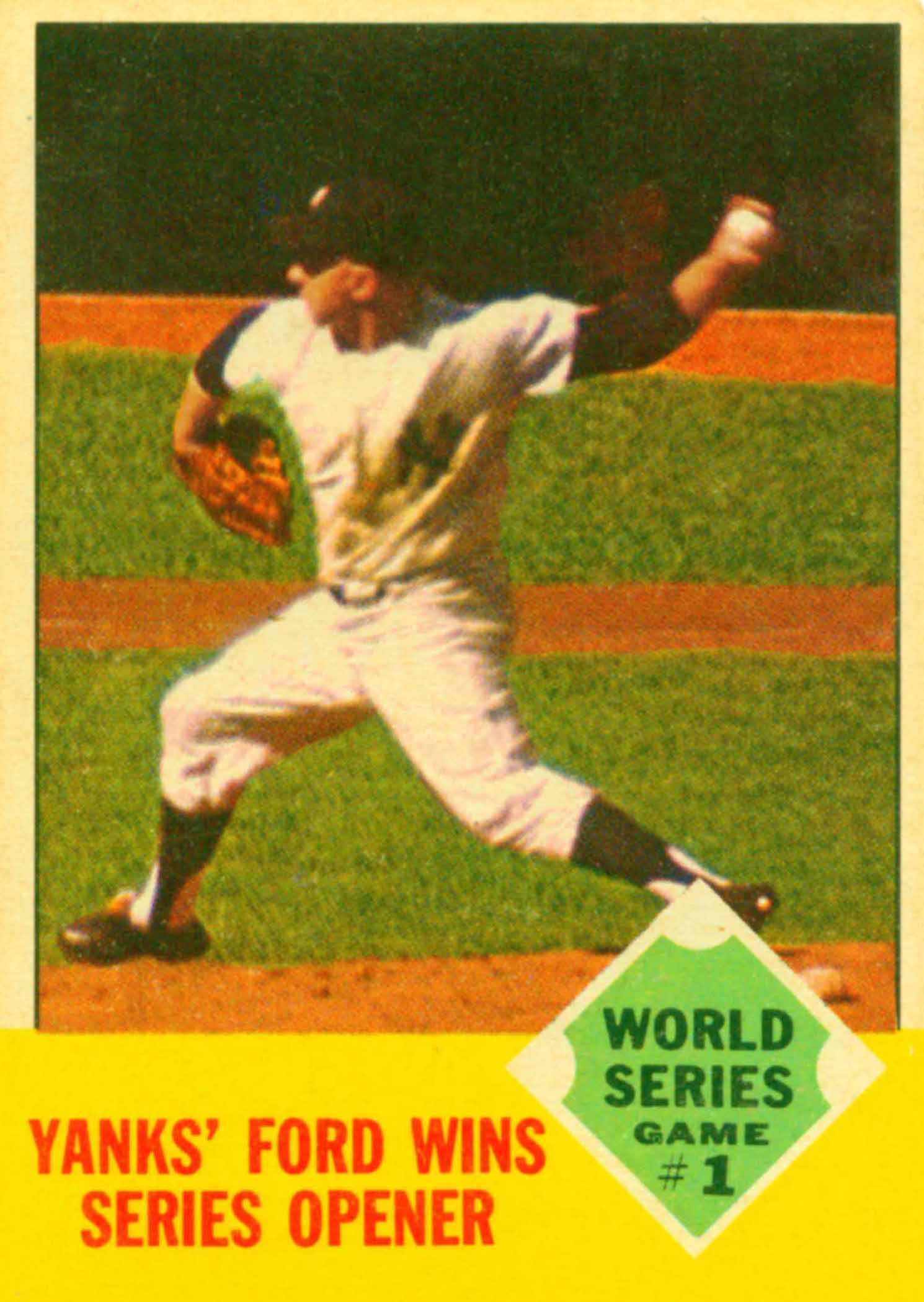 1963 Topps World Series
