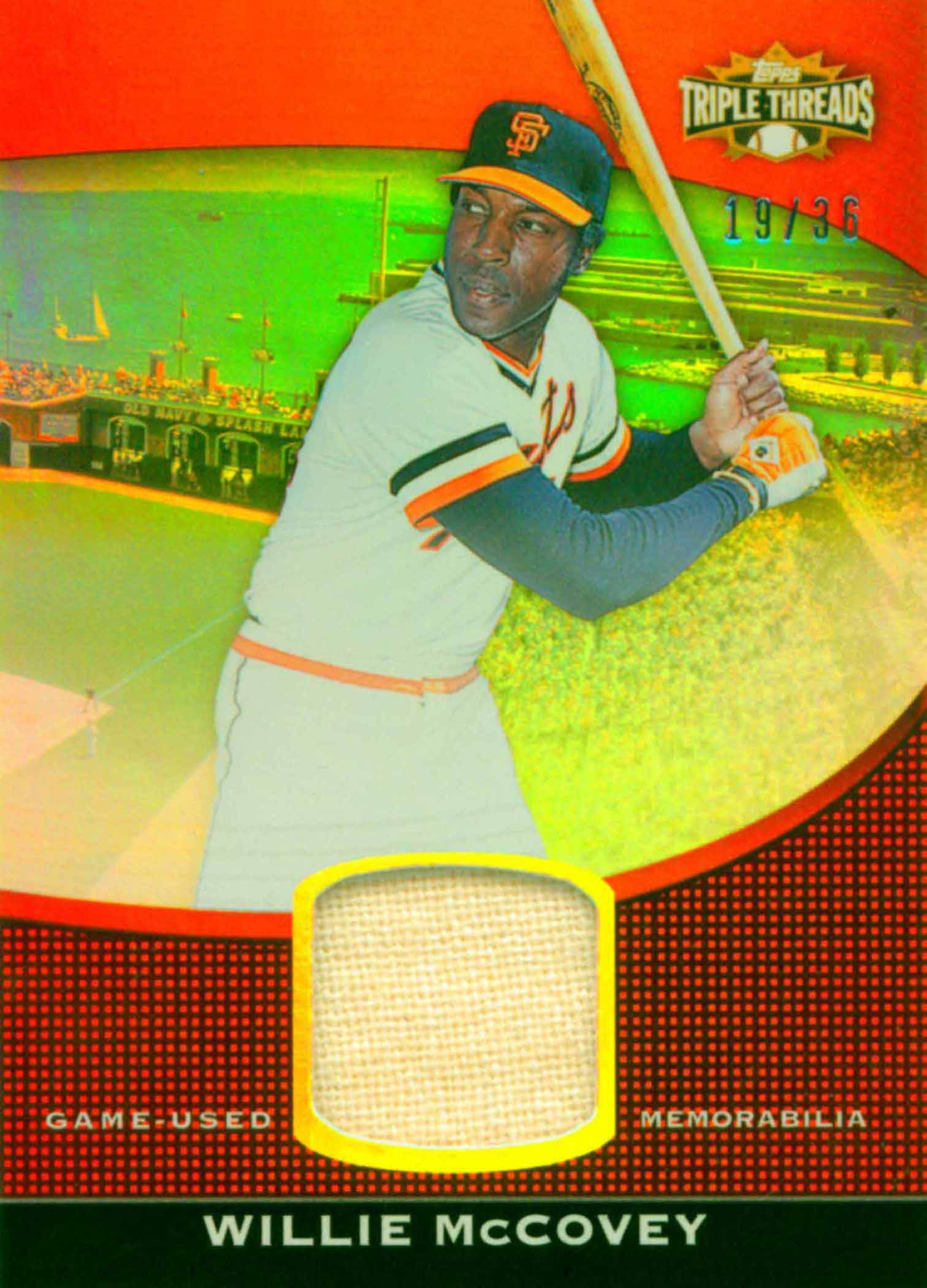 2011 Topps Triple Threads Unity Relics