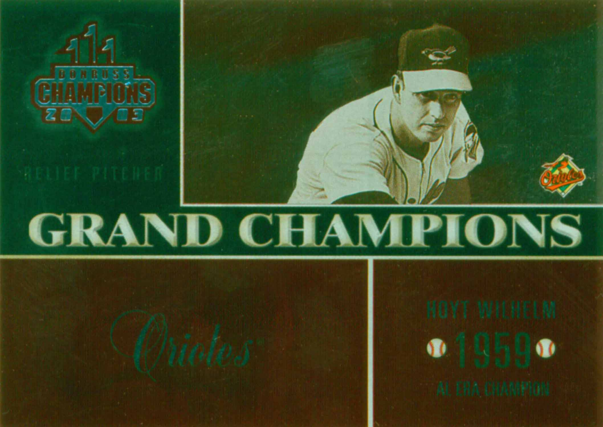 2003 Donruss Champions Grand Champions Metalized