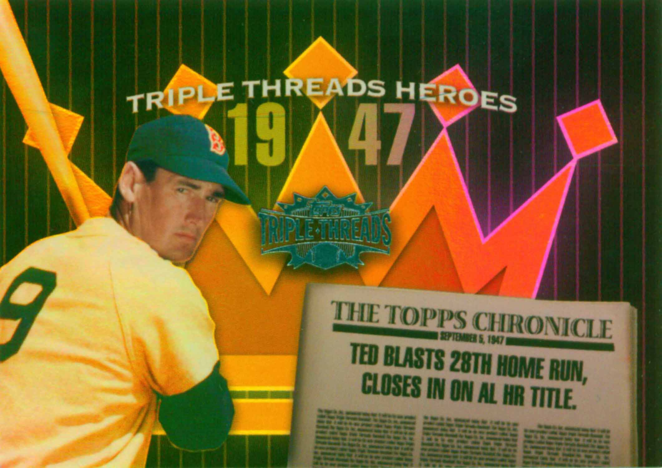2006 Topps Triple Threads Heroes