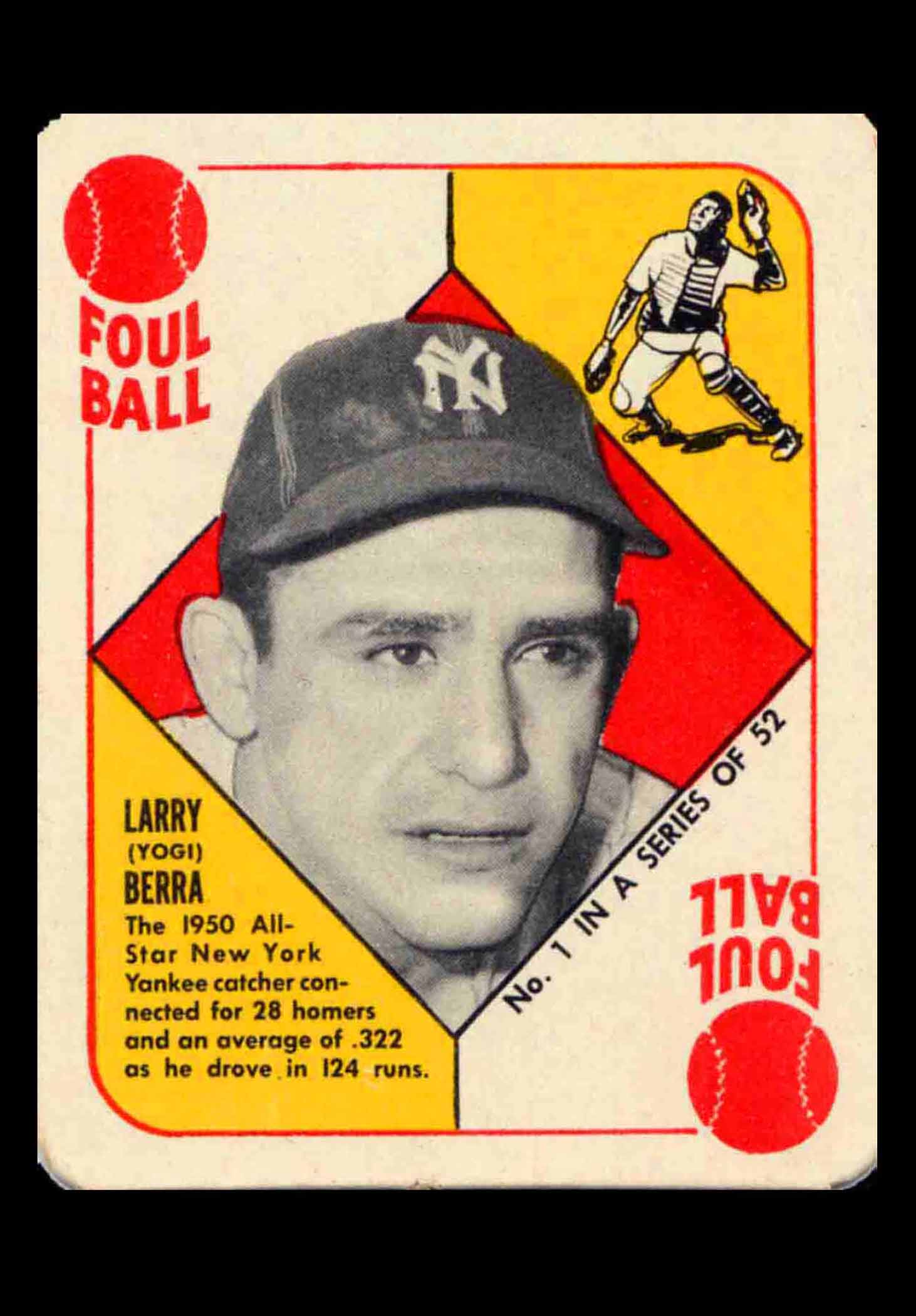 1951 Topps Red Backs